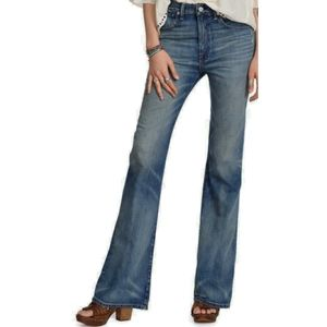 NWT Denim & suply high rise flare distressed jeans